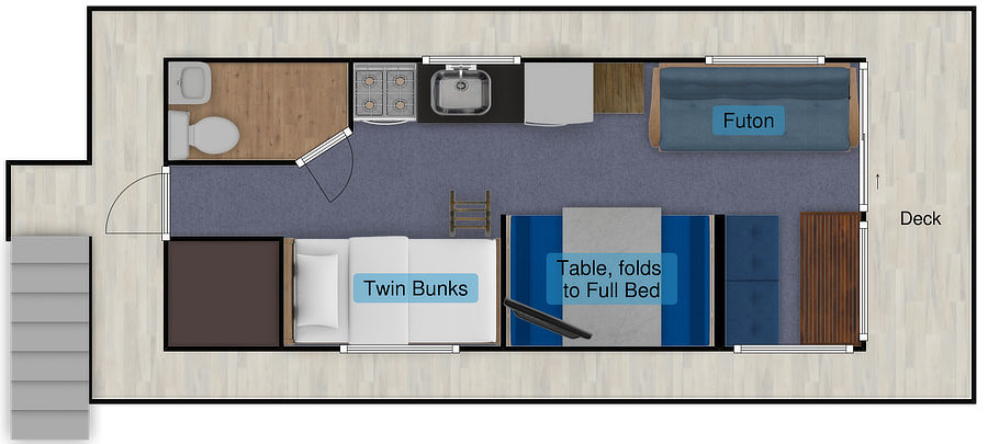 Landshark Floor Plan