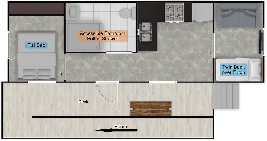 RV1 Floor Plan