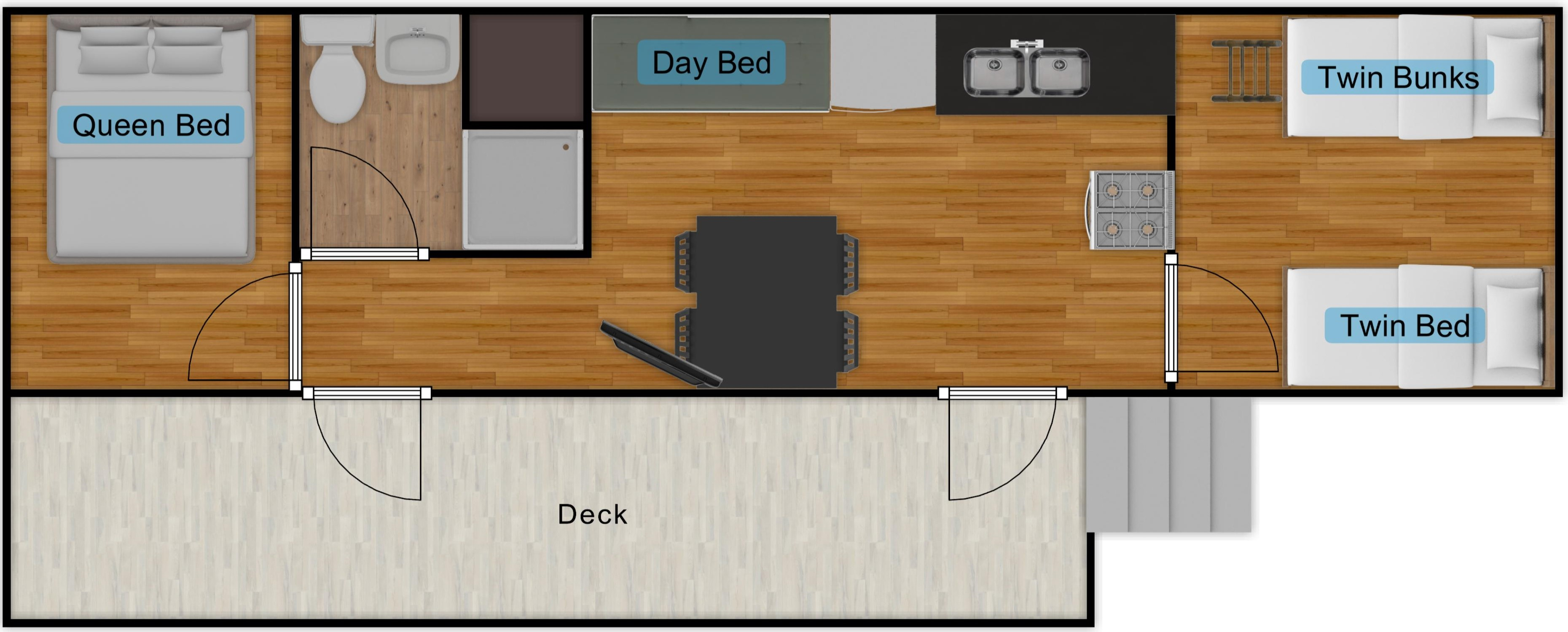RV5 Floor Plan